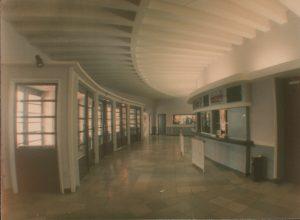 Das Foyer in früheren Zeiten